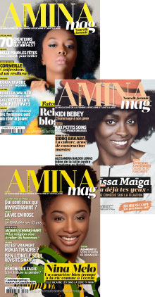 Couverture 2016-2017 d'Amina Mag